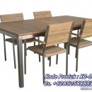 1 Set Meja Kursi Cafe Stainless 085258889350
